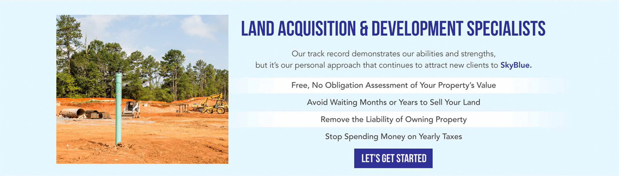 Land Acquisition and Development Specialists